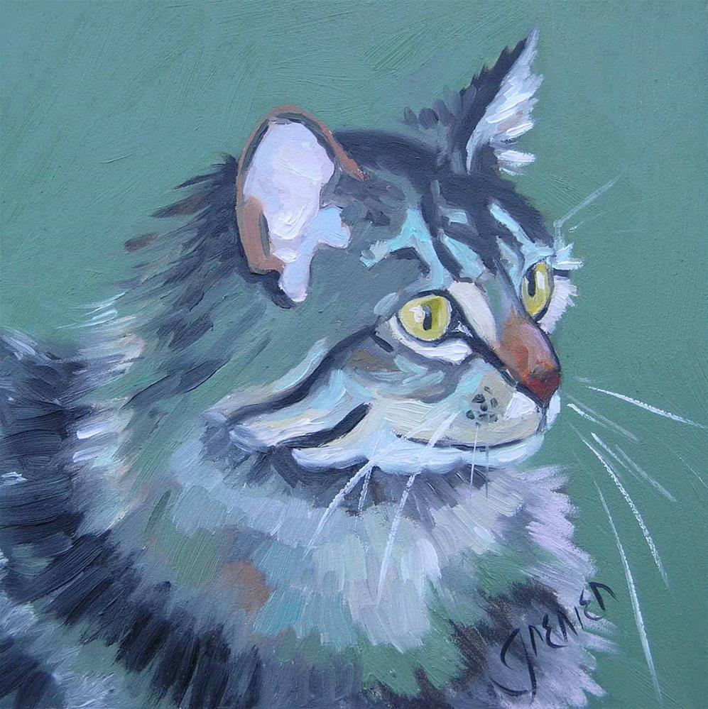 """#2 Mouser"" original fine art by jean grenier"