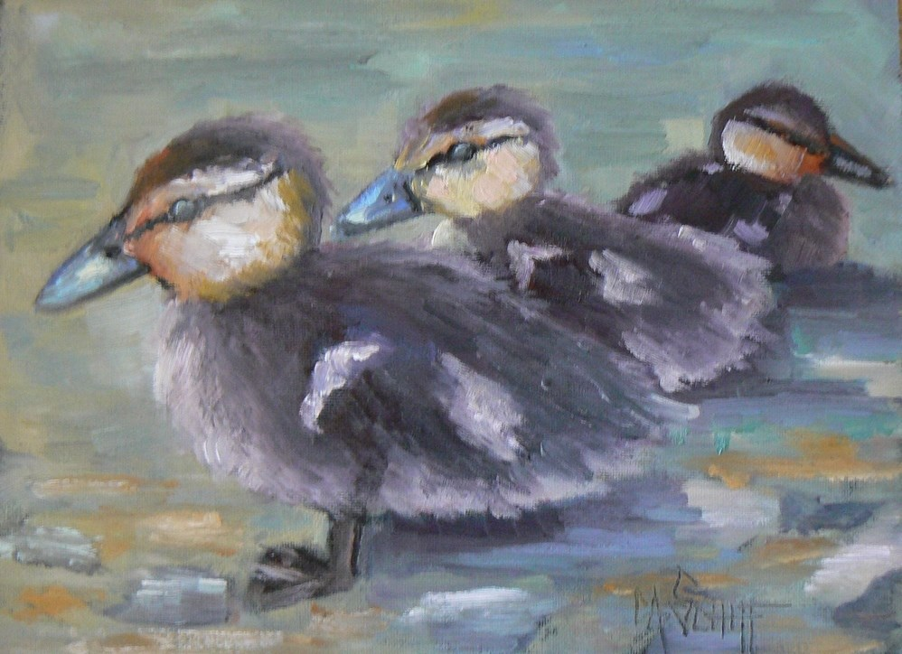 """Art Sale, Daily Painting, The Rest of the Story by Carol Schiff, 6x8 Oil"" original fine art by Carol Schiff"