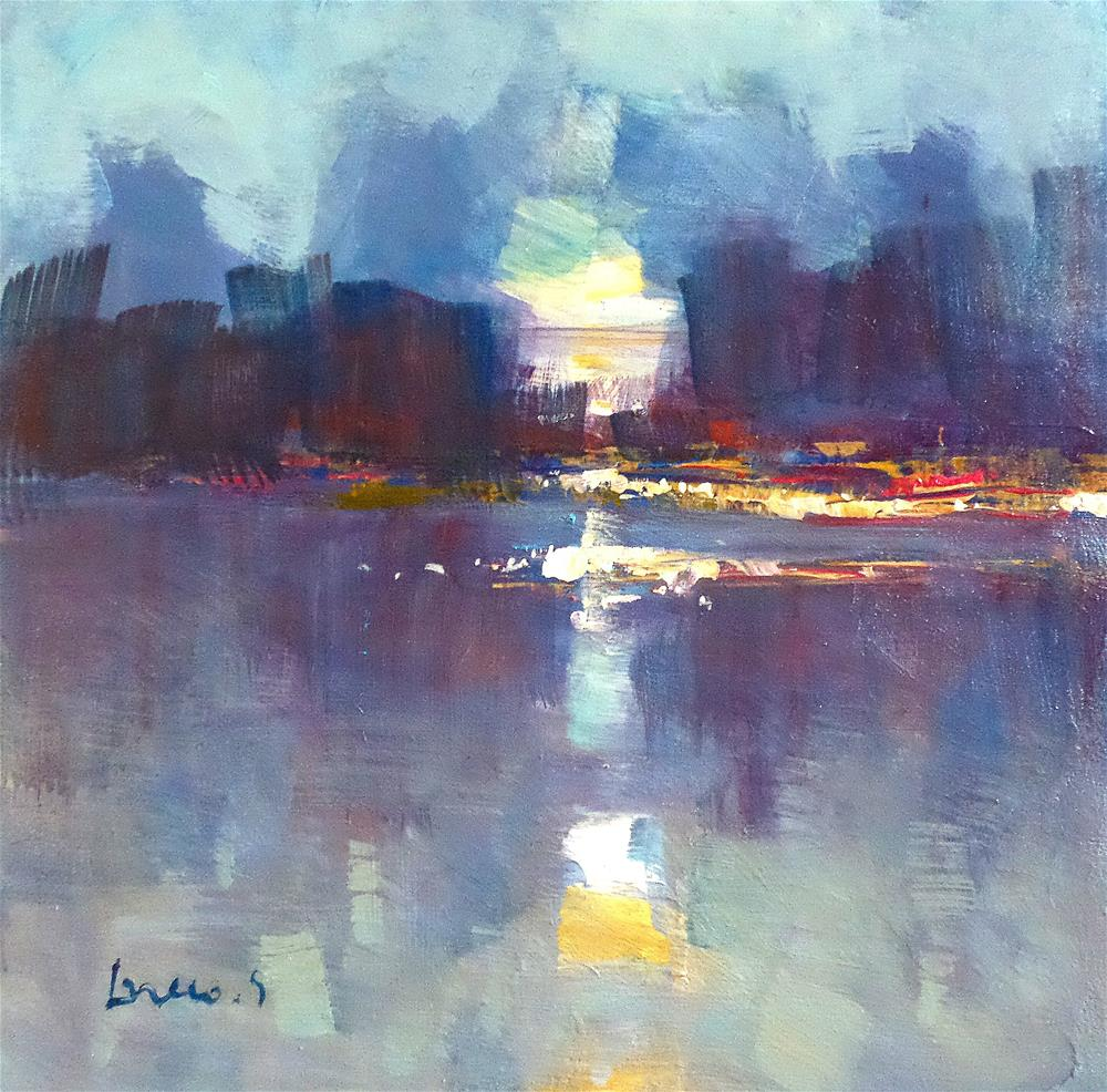 """early morning"" original fine art by salvatore greco"