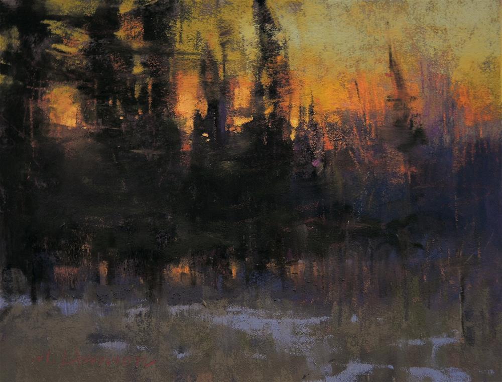 """The Last of Winter"" original fine art by Marc Hanson"