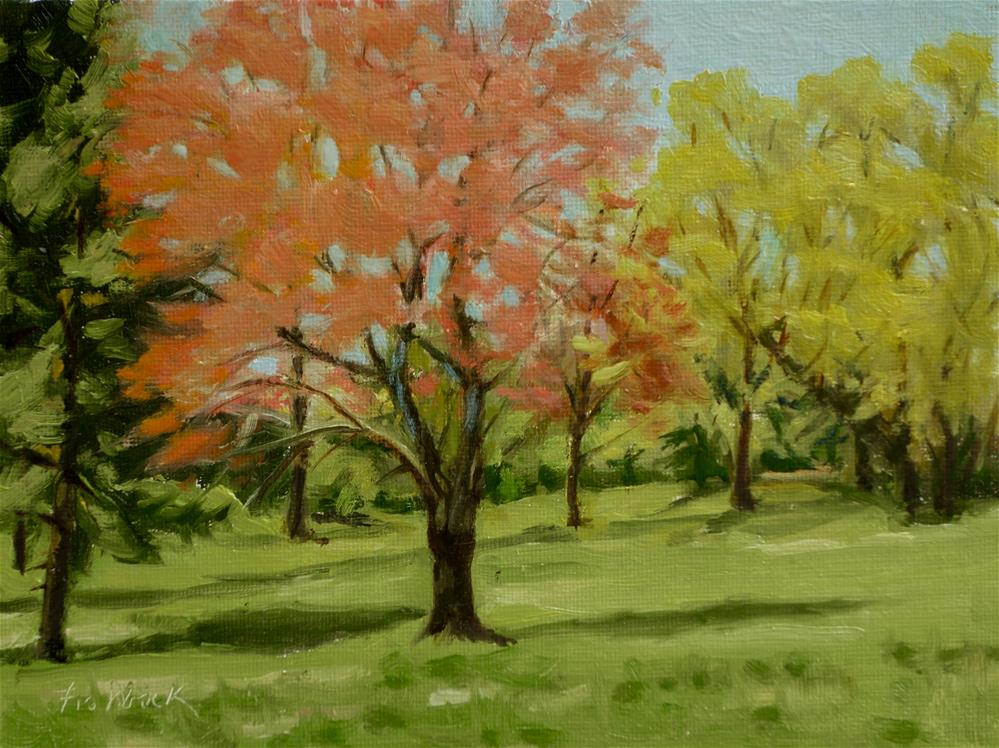 """Colors of Spring II"" original fine art by Daniel Fishback"