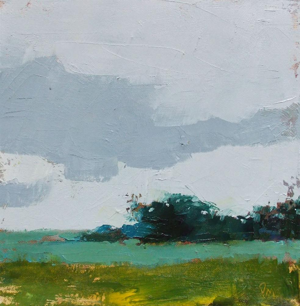 """Landscape Layers"" original fine art by Pamela Munger"
