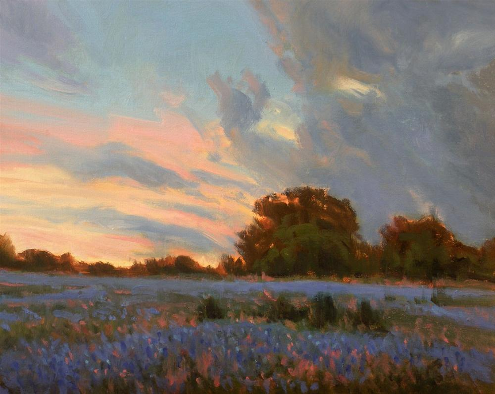 """Days End"" original fine art by David Forks"