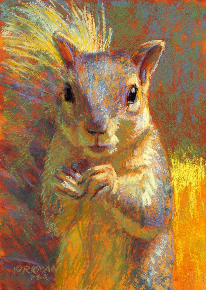 """""""Muncher"""" original fine art by Rita Kirkman"""