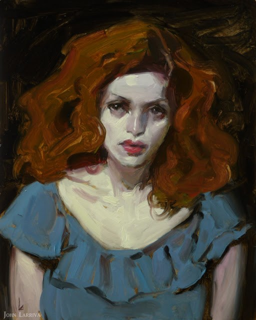 """Vexing Night"" original fine art by John Larriva"