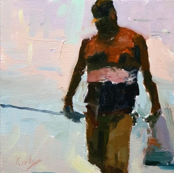 """""""El capitán de la Nave"""" original fine art by Randall Cogburn"""