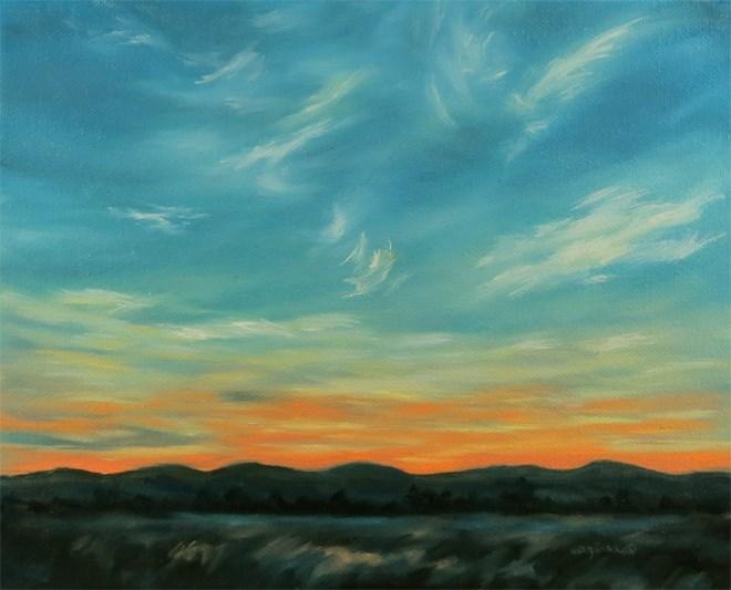 """""""Angel Feathers"""" original fine art by Carol Zirkle"""