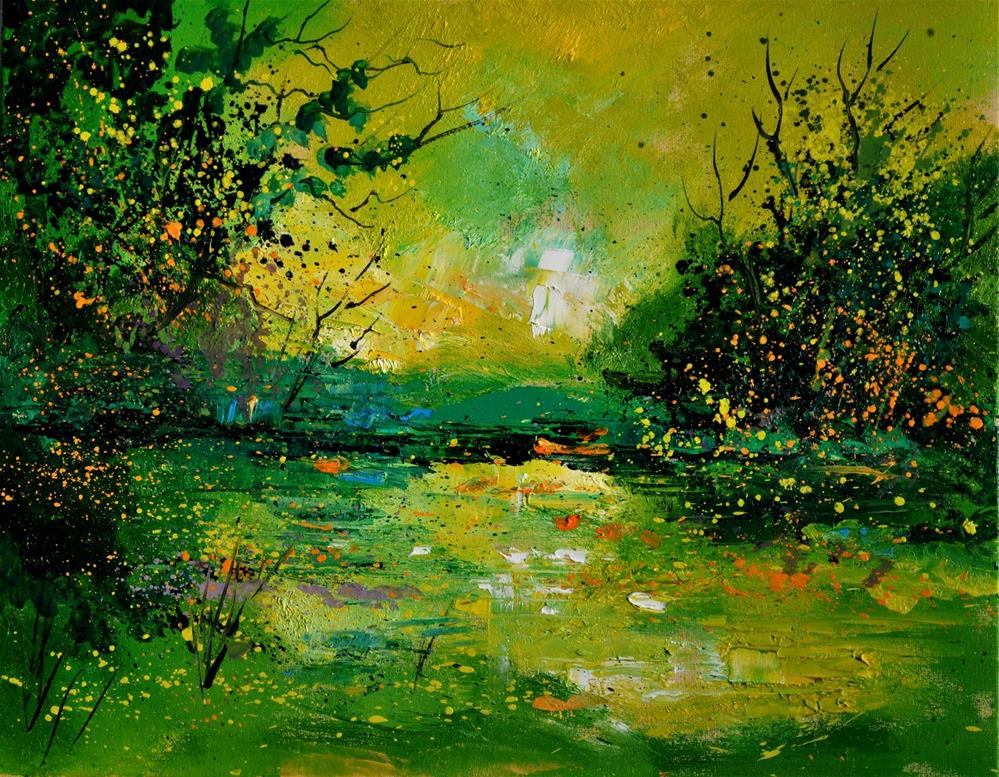 """ponde 5431"" original fine art by Pol Ledent"