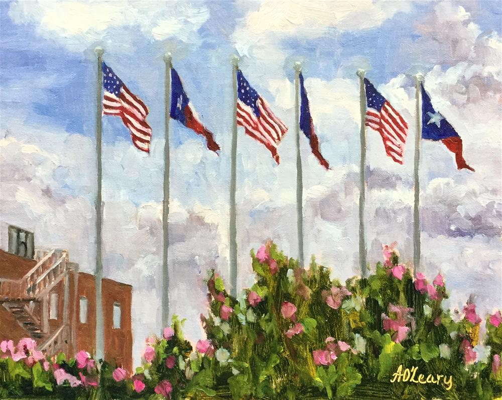 """Gateway to Deep Ellum"" original fine art by Alice O'Leary"