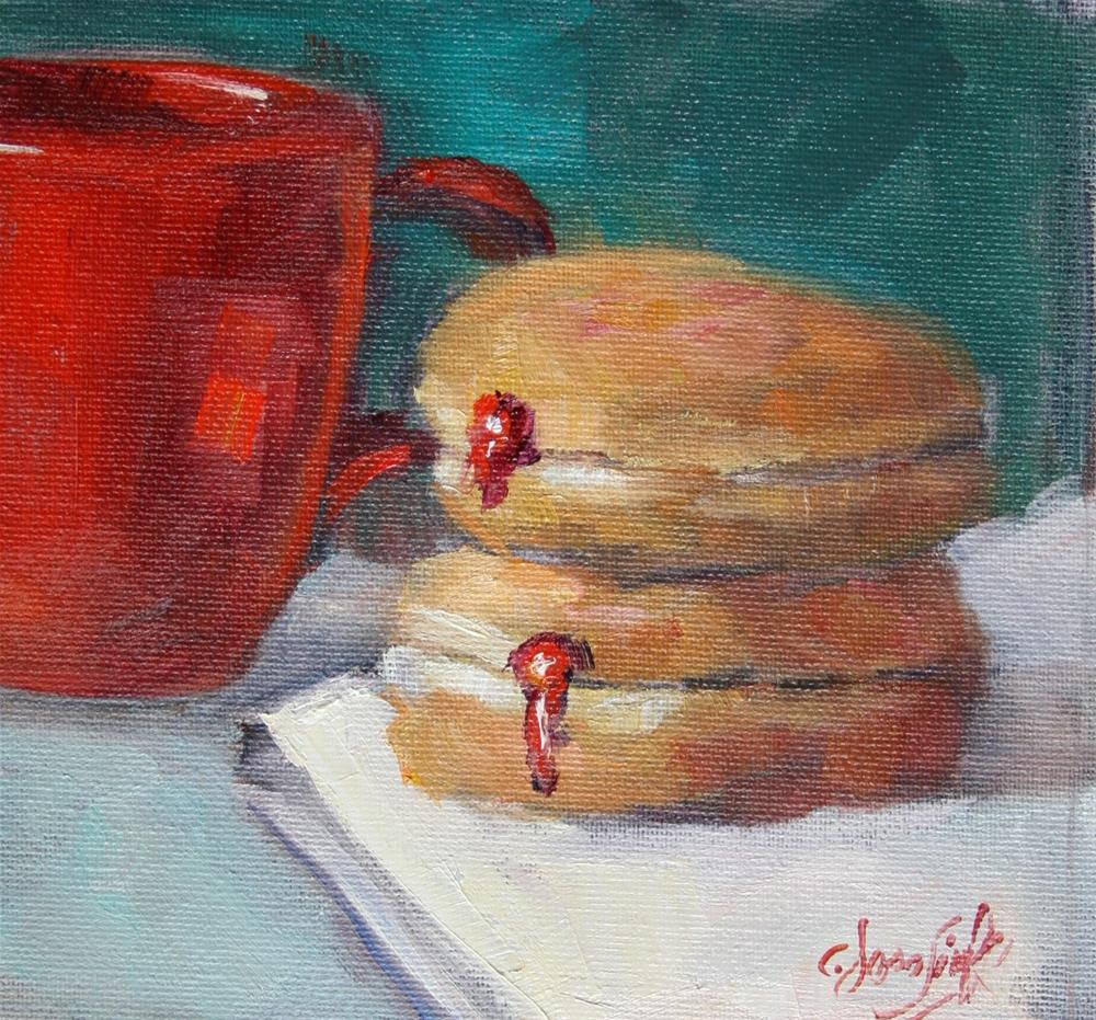 """Food for Thought - #2"" original fine art by Carol Josefiak"