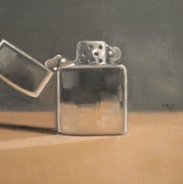 """Zippo"" original fine art by Darla McDowell"