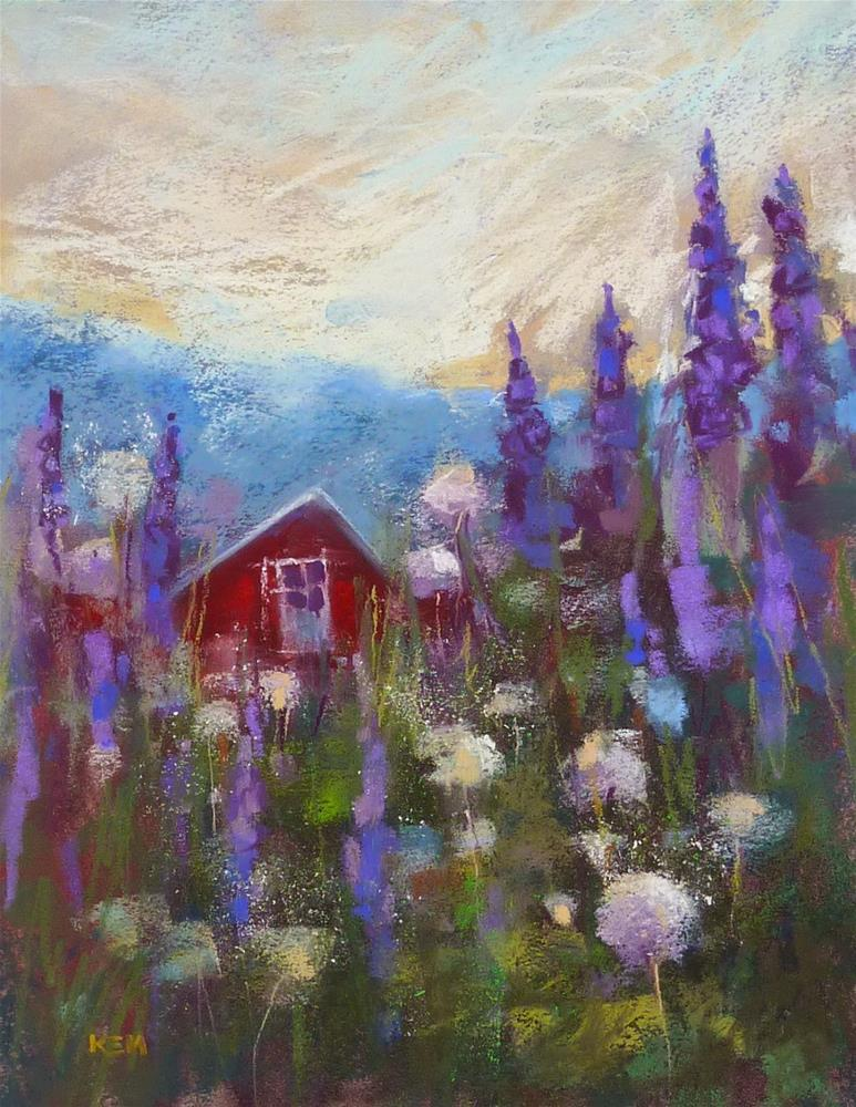 """Painting Iceland: Painting After the Trip Made Easier"" original fine art by Karen Margulis"