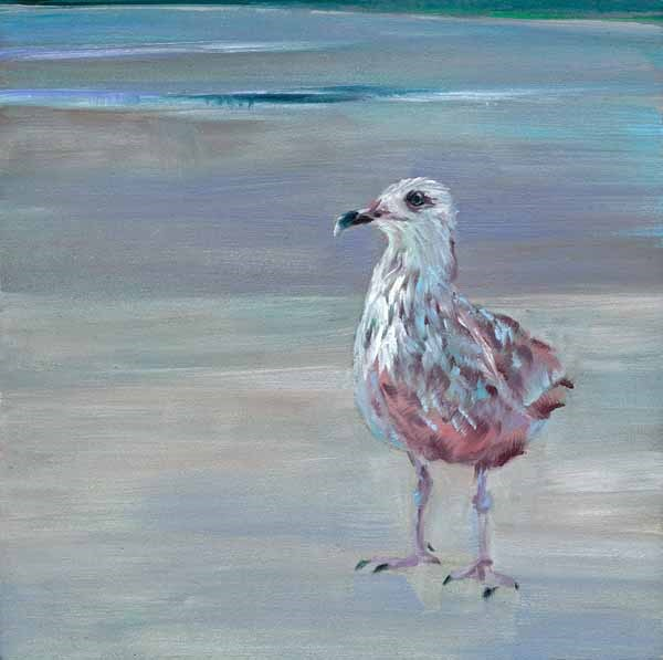 """Waiting on a Friend"" original fine art by Brenda Ferguson"