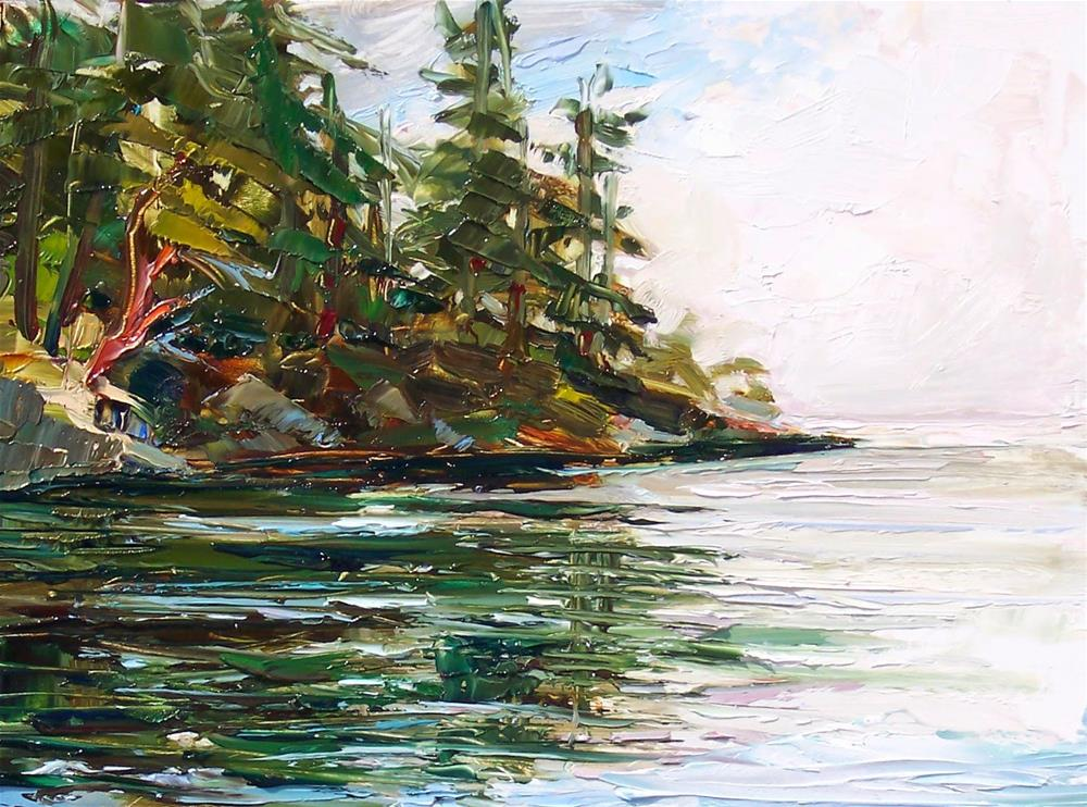 """Larrabee Boat Launch,landscape,oil on panel,9x12,price$400"" original fine art by Joy Olney"
