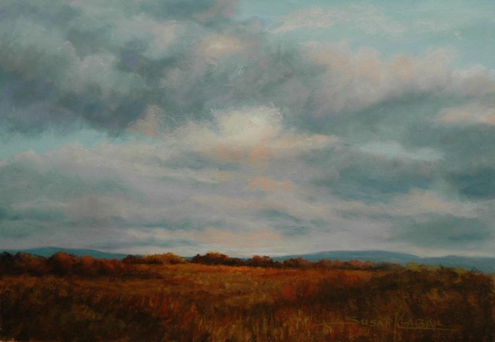 """Fading Light"" original fine art by Susan Klabak"