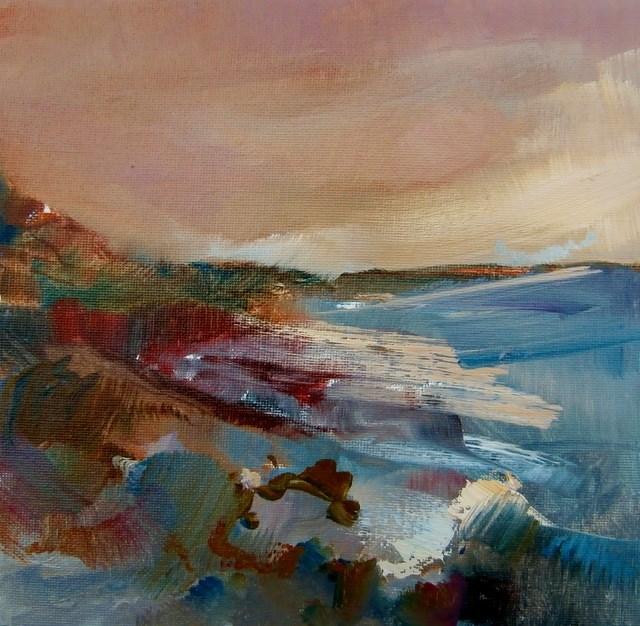 """Rough Day"" original fine art by Anne Wood"