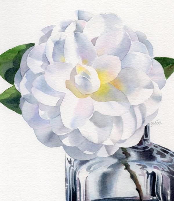 """Serendipity (SOLD)"" original fine art by Barbara Fox"