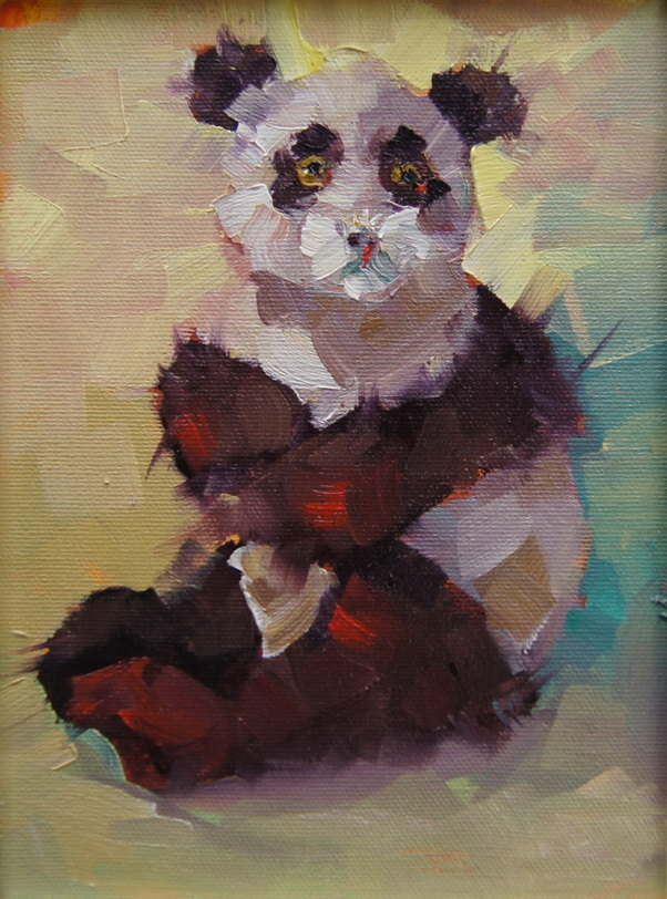 """Cute and Cuddly 1"" original fine art by Brian Buckrell"