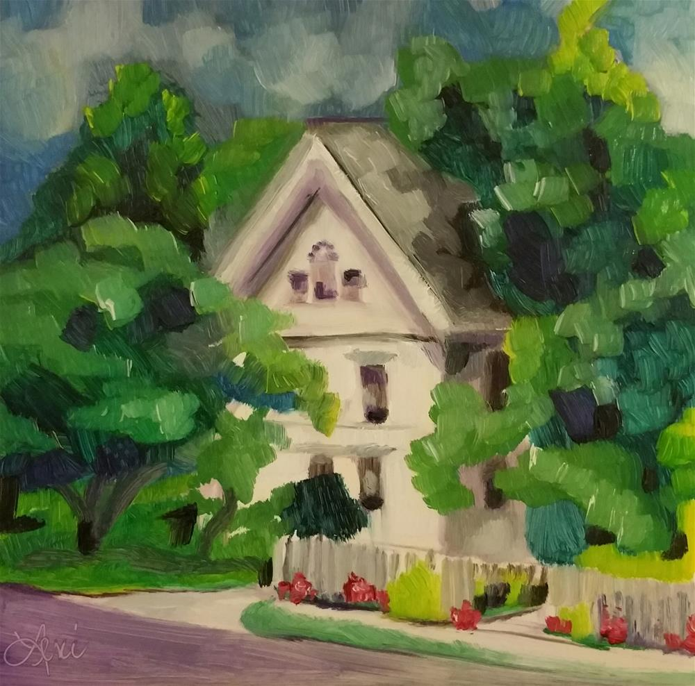 """Lost in Lynchburg"" original fine art by Leni Tarleton"