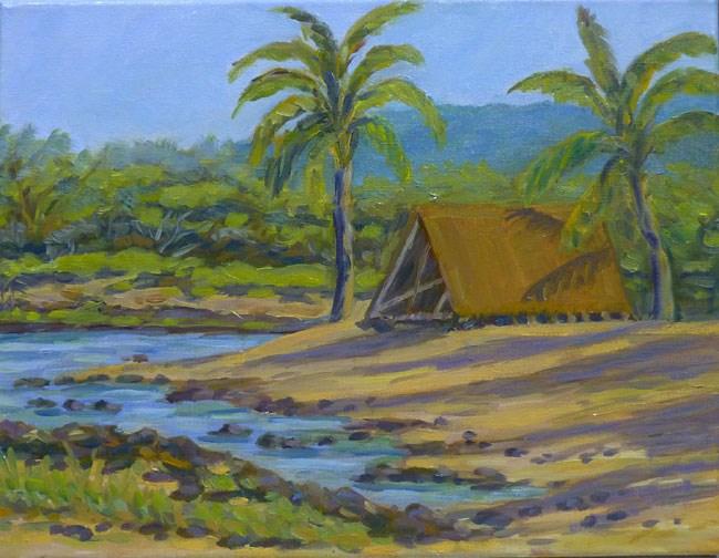 """Honokohau Harbor"" original fine art by Stan Chraminski"