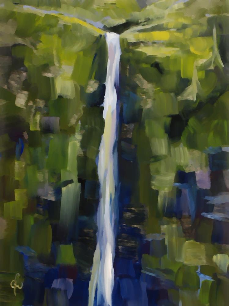 """""""Hanakapi'ai"""" original fine art by Gary Westlake"""