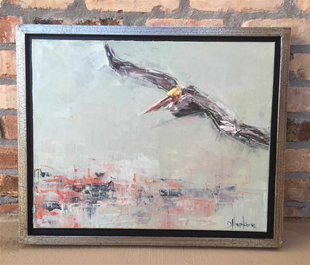 """On a Mission, Framed"" original fine art by Denise Hopkins"