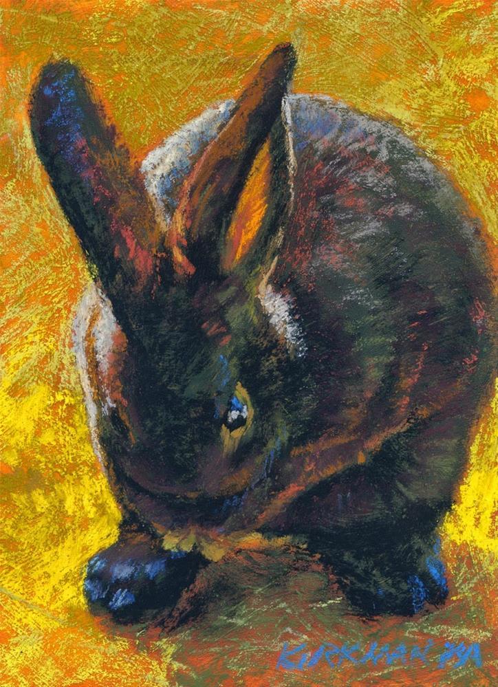 """Tootsie"" original fine art by Rita Kirkman"