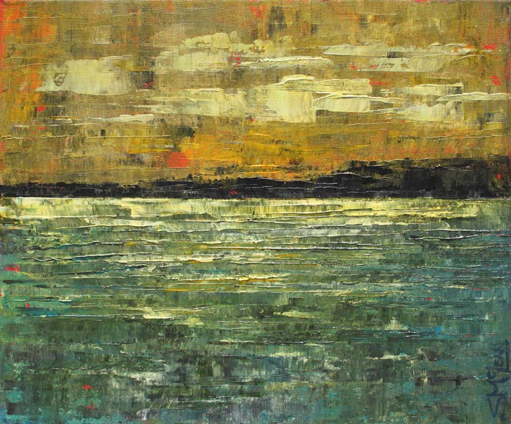 """Dusk Light"" original fine art by Sage Mountain"