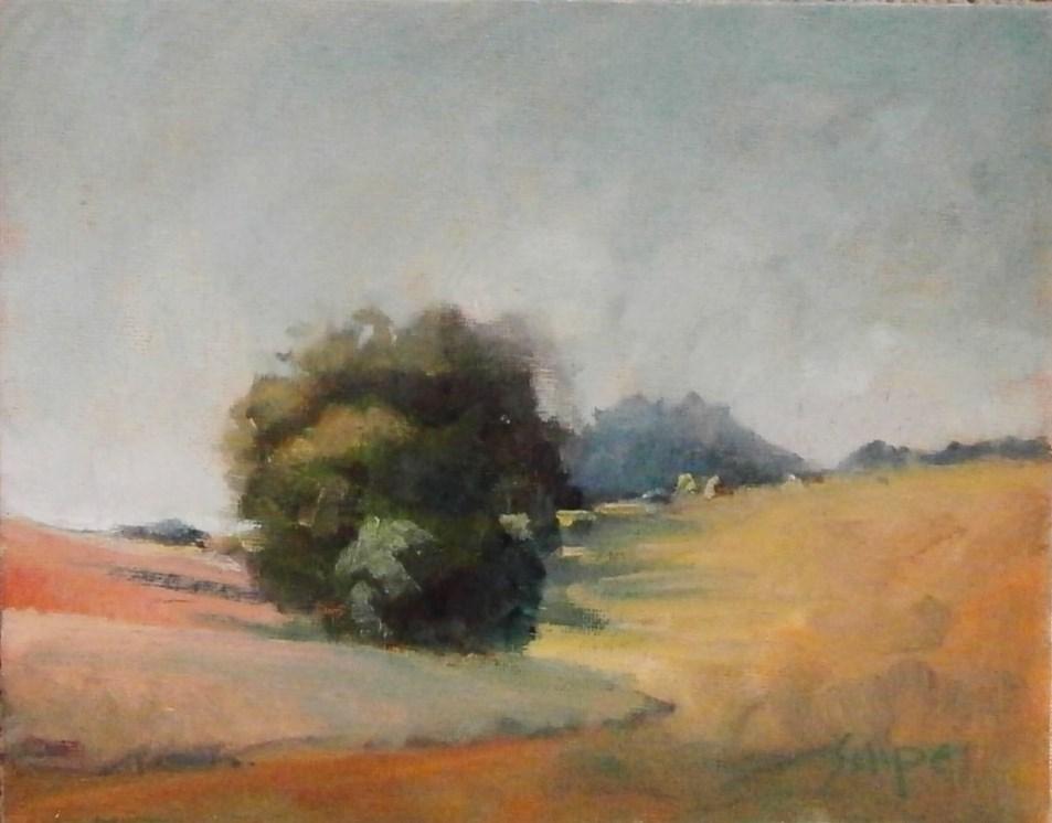 """""""Hedgerow"""" original fine art by Connie Snipes"""