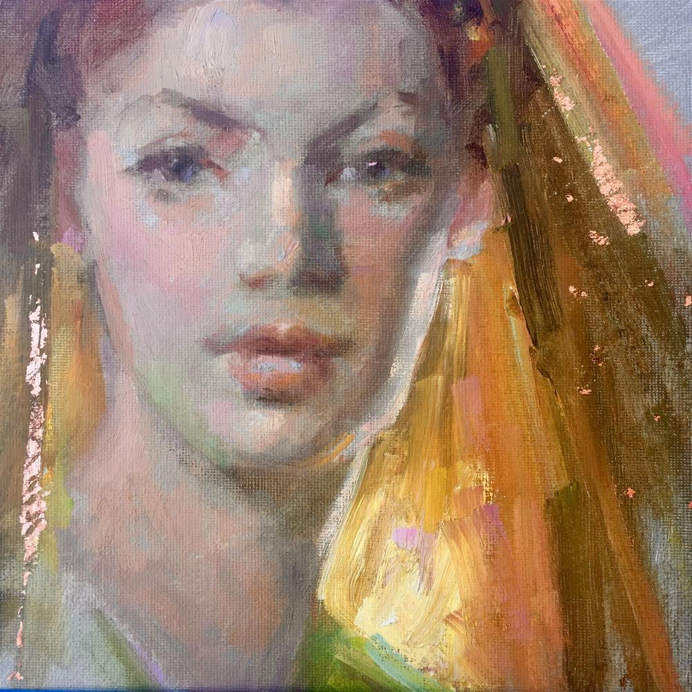 """Inner Glow"" original fine art by Johanna Spinks"