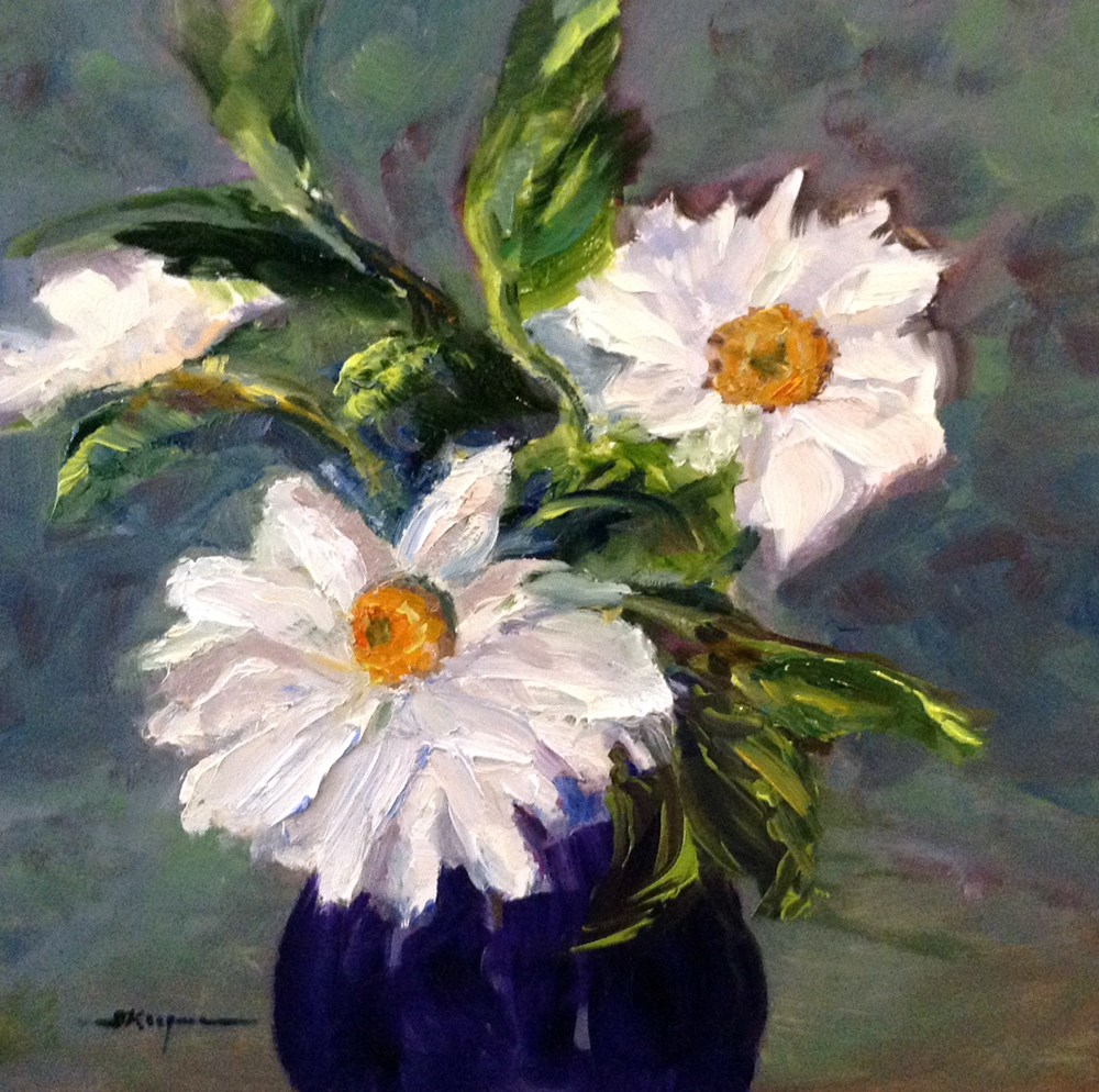 """Daisy Days"" original fine art by Shelley Koopmann"