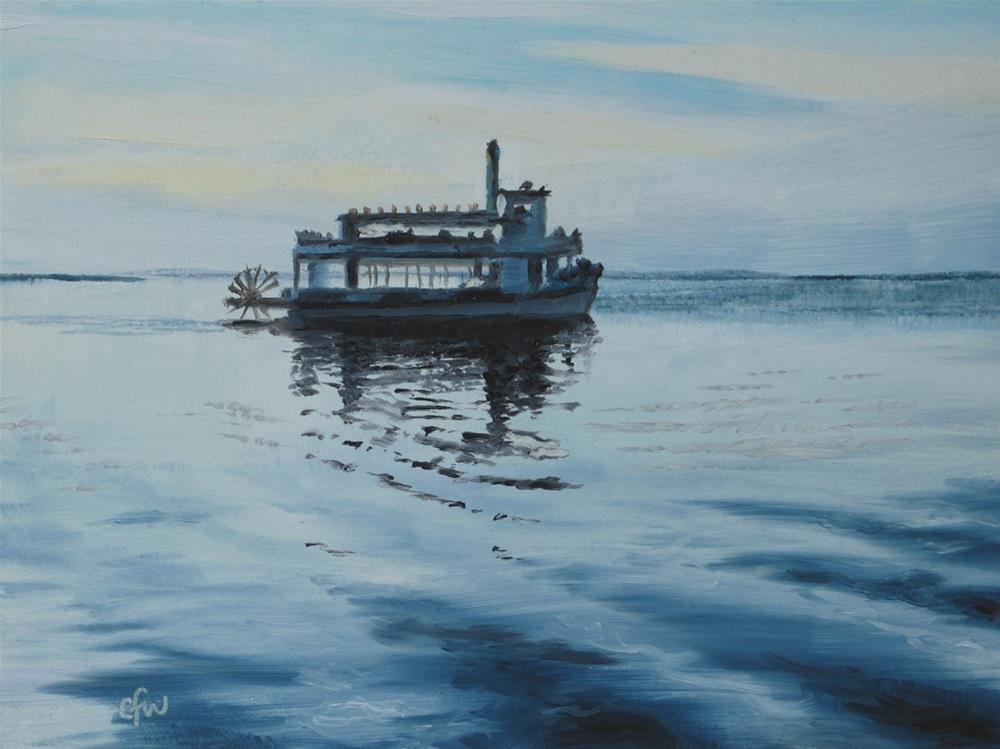 """Dinner Cruise"" original fine art by Gary Westlake"
