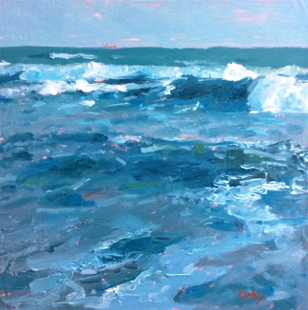 """Salty Air"" original fine art by Randall Cogburn"