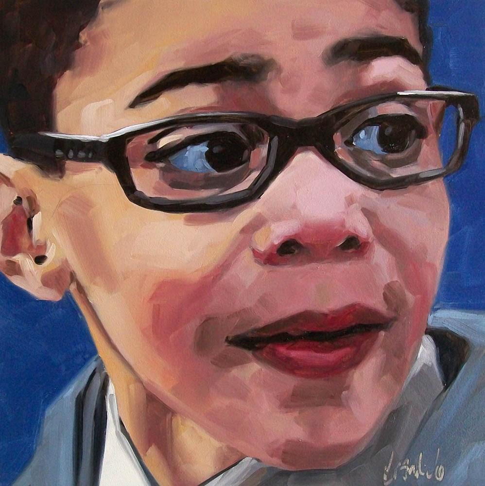 """Aiden2"" original fine art by Brandi Bowman"