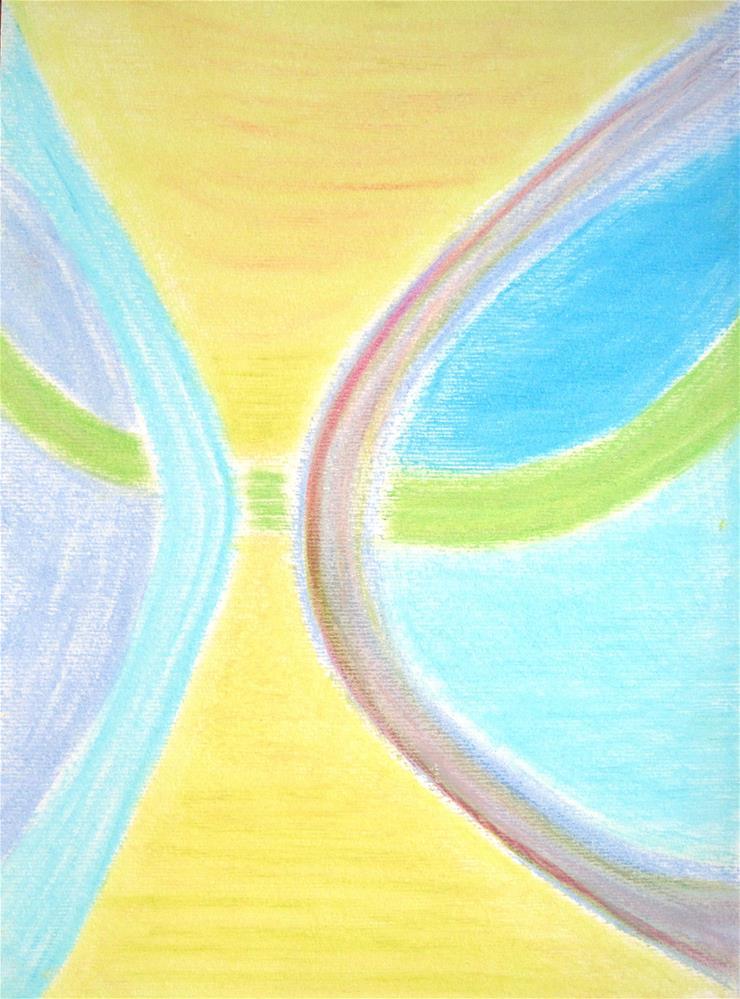 """""""Morning Sky"""" original fine art by Adéla Svobodová"""