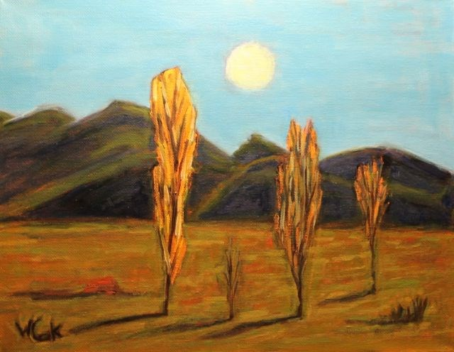 """Chile"" original fine art by William Cook"
