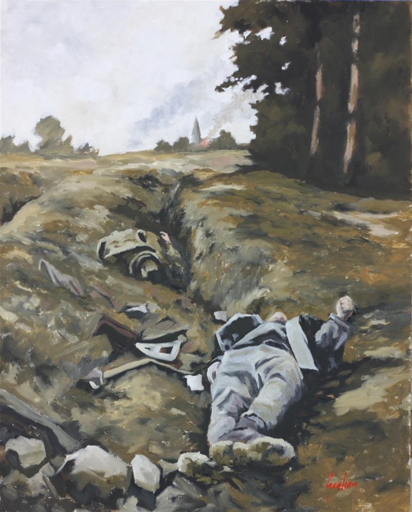 """""""A foreign field."""" original fine art by Graham Townsend"""