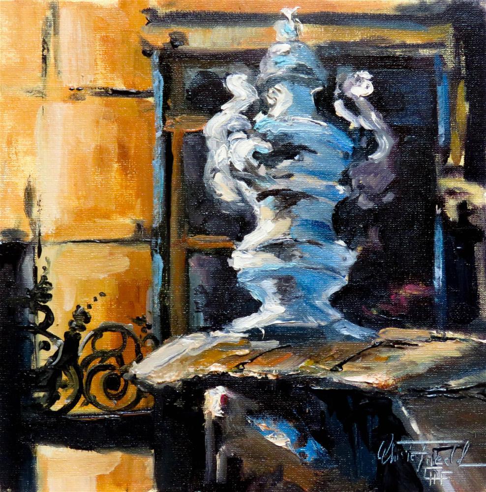 """Amphora"" original fine art by Christa Friedl"