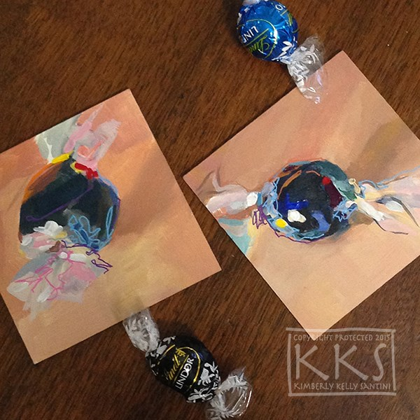 """Truffles"" original fine art by Kimberly Santini"