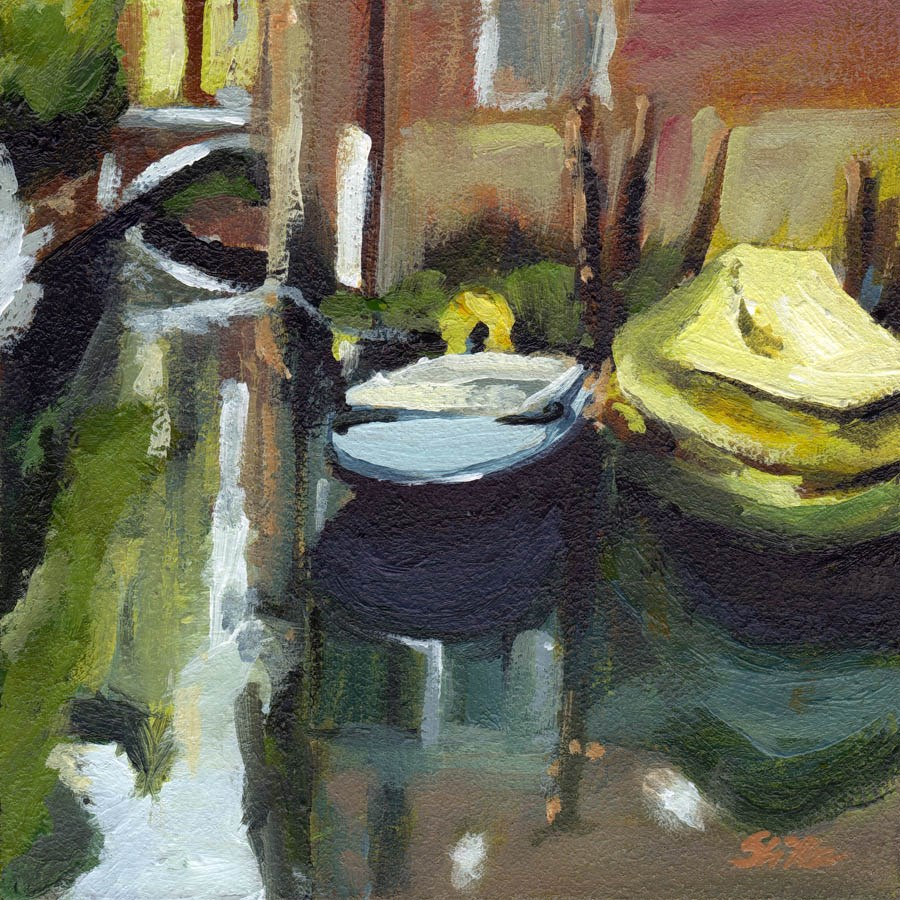 """1683 Venezia (di nuovo)"" original fine art by Dietmar Stiller"