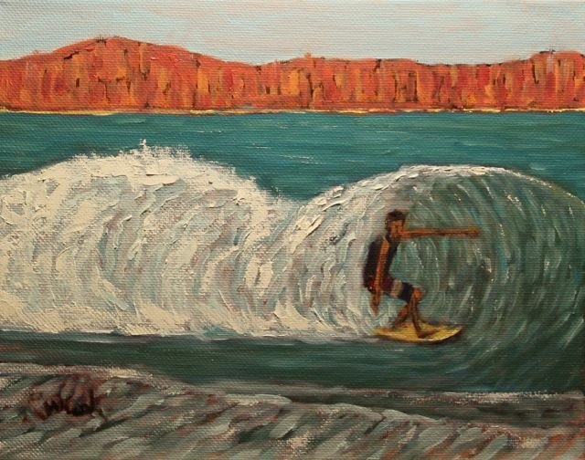 """Playa Grande"" original fine art by William Cook"