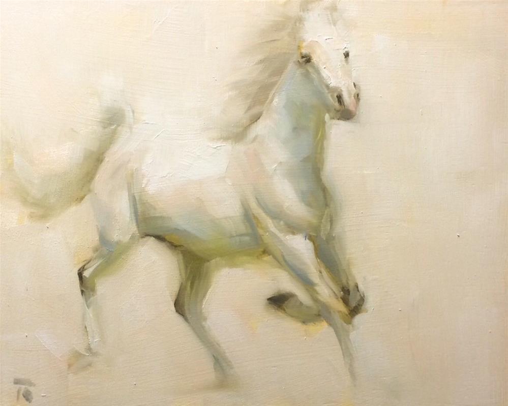 """Dancing in the light"" original fine art by Thomas Ruckstuhl"