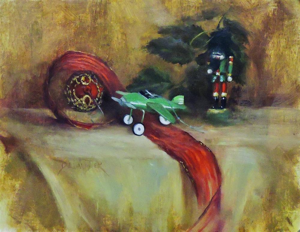 """Christmas Memories, Original Oil Painting"" original fine art by Diana Delander"