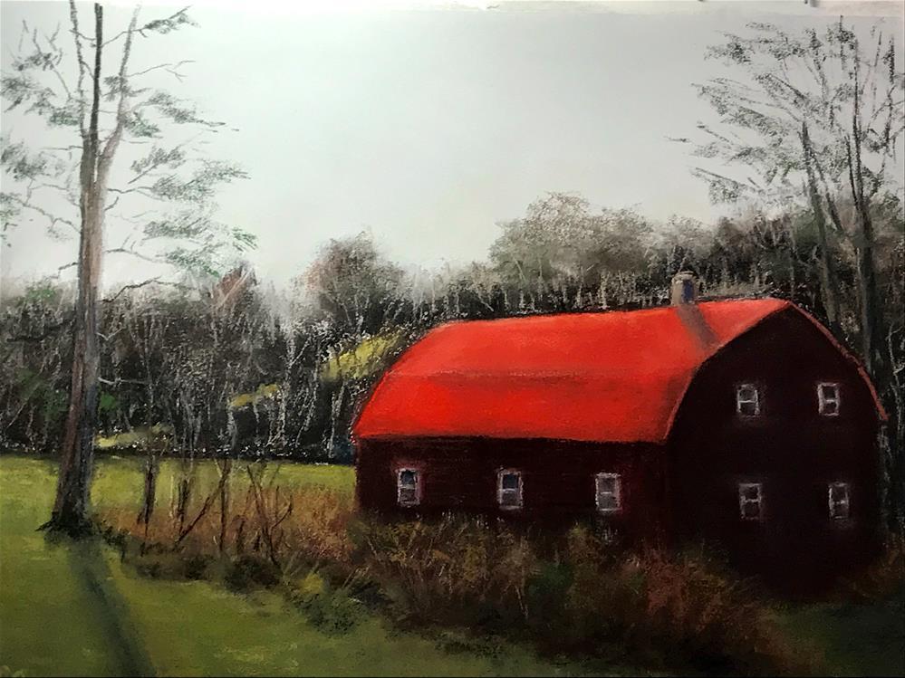 """rainy day"" original fine art by Betty Argiros"