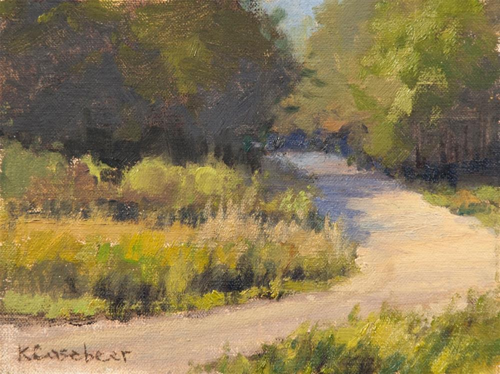 """G Road"" original fine art by Kim Casebeer"