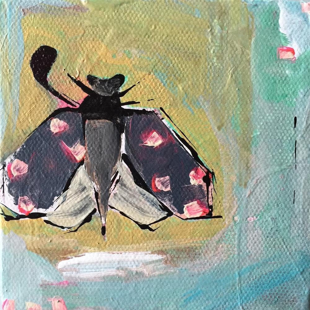"""""""51 Spotted"""" original fine art by Jenny Doh"""