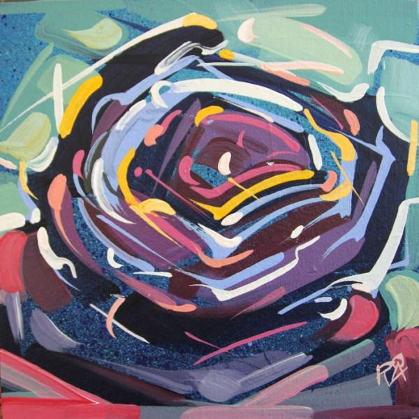 """Bird's Nest Abstraction 59"" original fine art by Roger Akesson"
