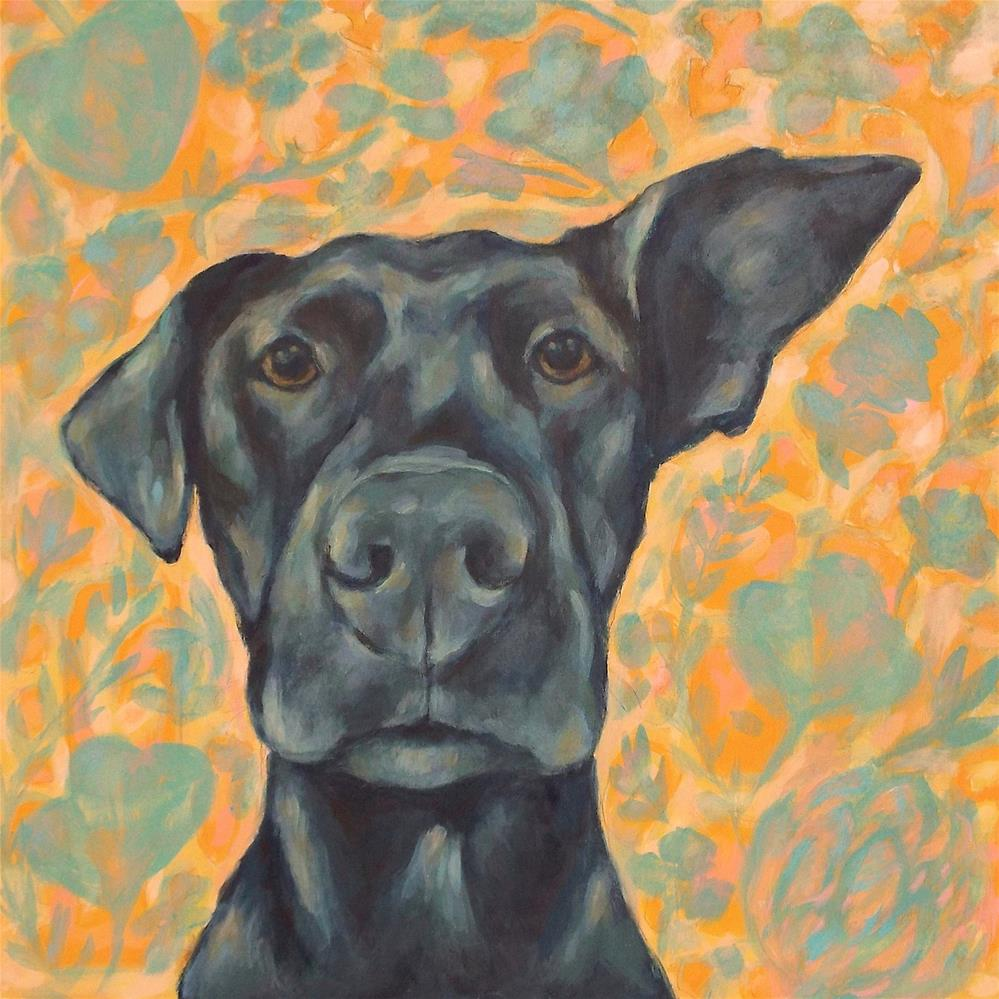 """Winnie"" original fine art by Kathy Hiserman"