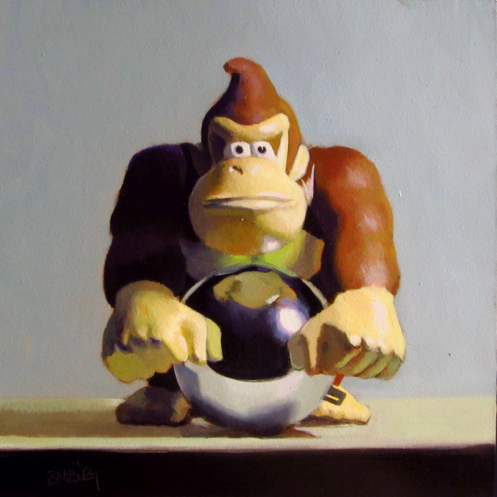 """""""DAILY DIAPER #232 MINE!!!"""" original fine art by Brian Burt"""
