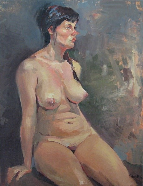 """Summer Skin"" original fine art by Sarah Sedwick"